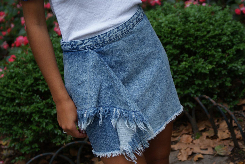 Denim Skirt Revival